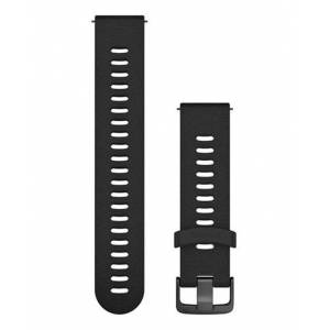 GARMIN Quick Release 20 Silikon Slate FR645 - Klokkereim - Svart