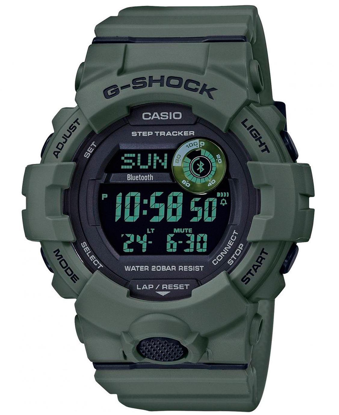 CASIO G-Shock GBD-800UC-3ER - Klokke - Olivengrønn
