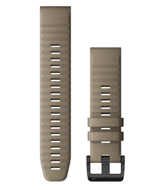 GARMIN QuickFit 22 Silikon - Klokkereim - Sand