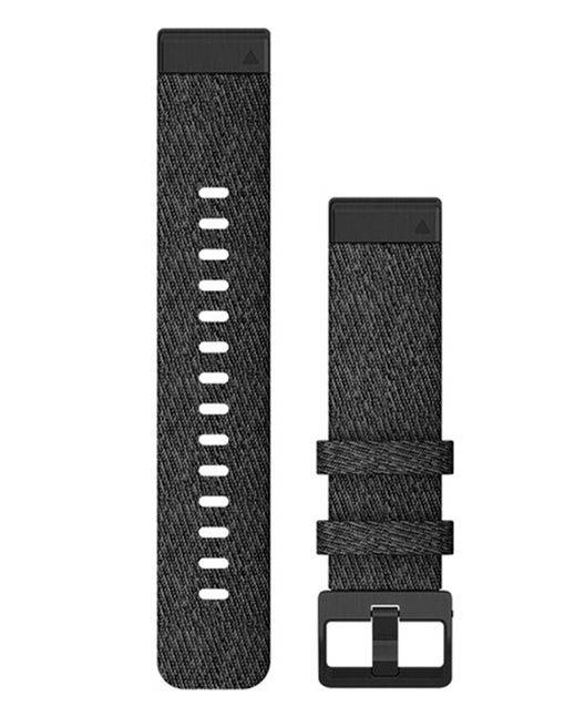 GARMIN Quickfit 20 Nylon - Klokkereim - Svart
