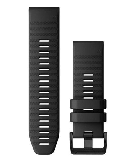 GARMIN Quickfit 26 Silikon - Klokkereim - Svart