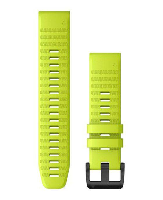 GARMIN QuickFit 22 Silikon - Klokkereim - Gul
