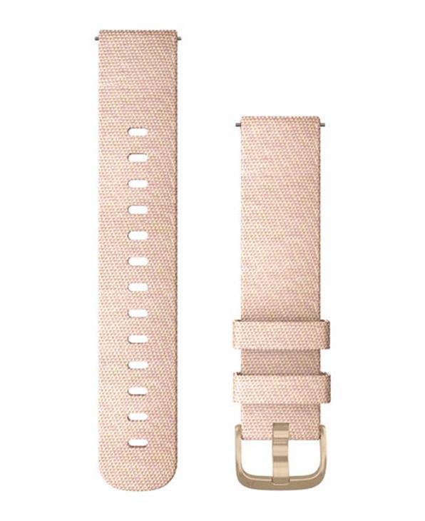 GARMIN Quick Release 20 Nylon - Klokkereim - Rosa