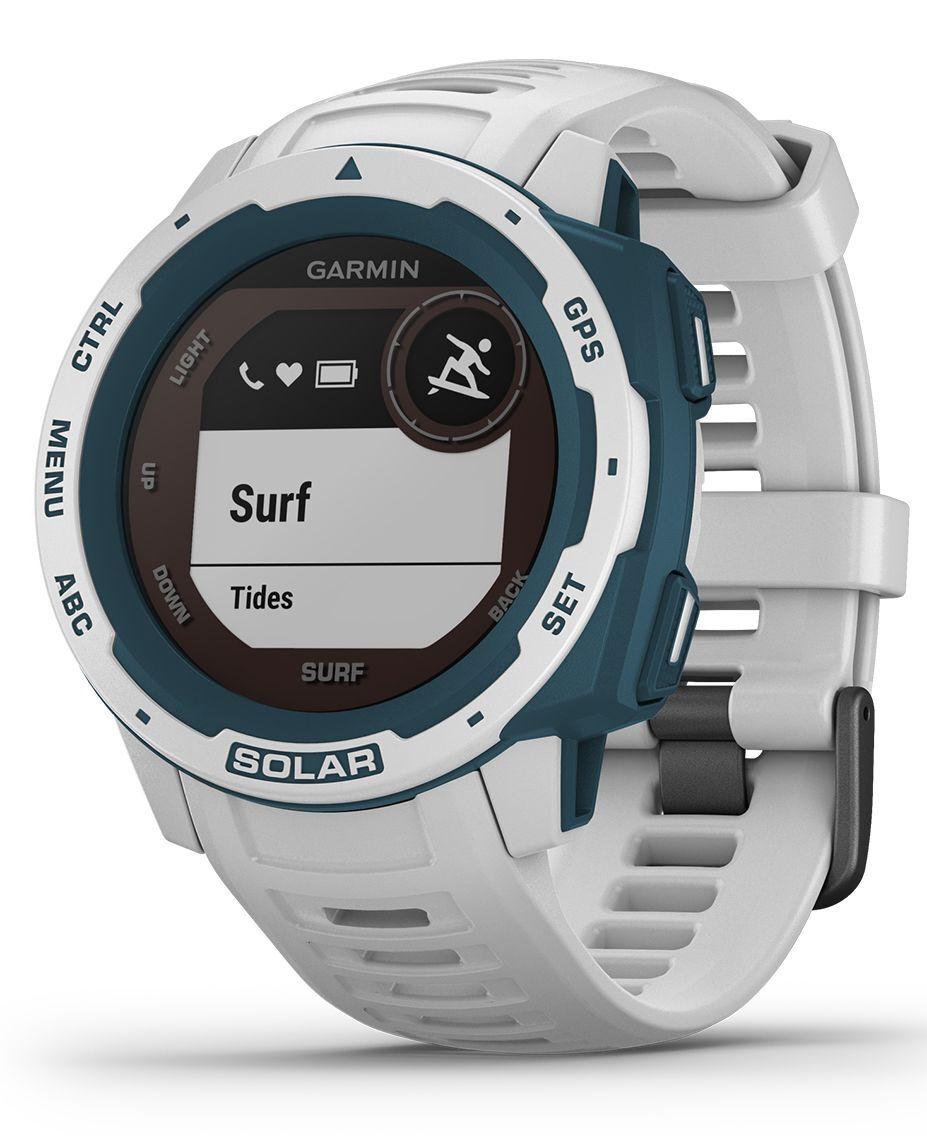 GARMIN Instinct Solar Surf - Klokke - White