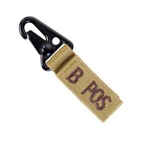 Condor Key Chain 4-Pack - B- - Blodtype - Khaki