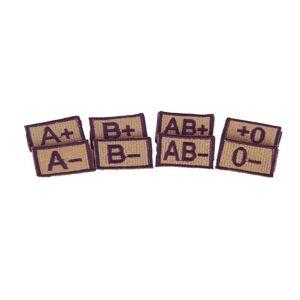MILRAB Original - B- - Blodtype Patch - Khaki
