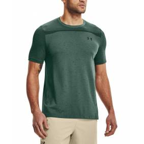 Under Armour Seamless SS - T-skjorte - Toddy Green - XL