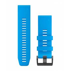 GARMIN QuickFit 26 Silikon - Klokkereim - Cyan