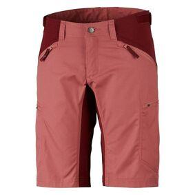 Lundhags Makke Womens - Shorts - Crystal/Dk Red - 38