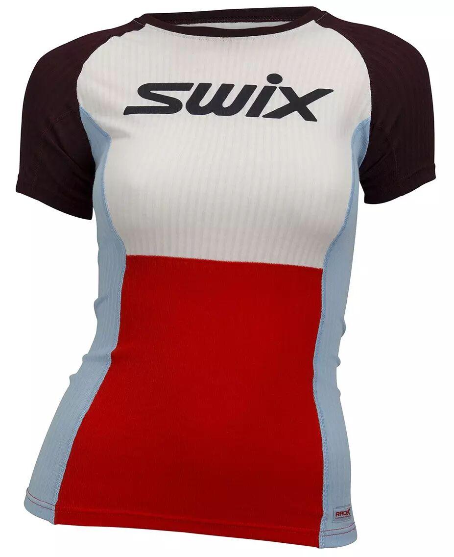Swix RaceX bodyw Ws - T-skjorte - Fiery Red - L