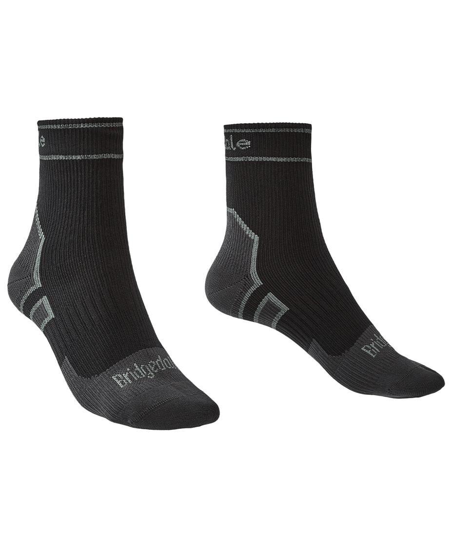 Bridgedale Storm Sock LW Ankle - Sokker - Black/Mid Grey - M