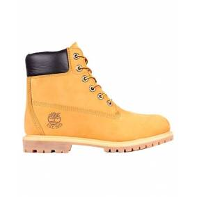 TIMBERLAND 6in Premium Shearling Lined WP Ws - Sko - Wheat - 37