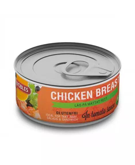 Nobles Chicken Breast Tomato155g - Turmat