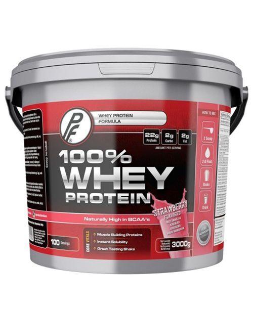 Proteinfabrikken 100% Whey Strawberry 3kg