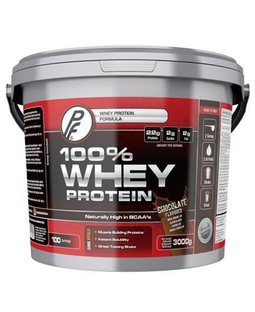 Proteinfabrikken 100% Whey Chocolate 3kg - Proteinpulver