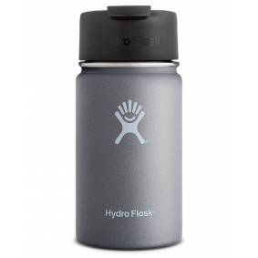 Hydro Flask 350ml Wide Mouth w/ Flip Lid - Kopp - Graphite