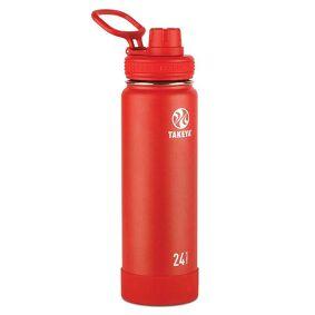 Takeya Actives Insulated 700ml - Flaske - Rød