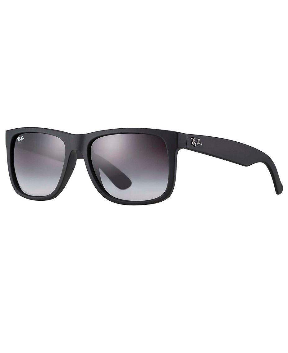 RAY-BAN Justin Classic Black - Solbriller - Grey Gradient - 55