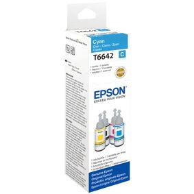 Epson T6642 C Refill blekkbeholder - C13T664240 Original - Cyan 70 ml