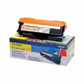 Brother TN320 Y Toner - Original - Gul 1500 sider