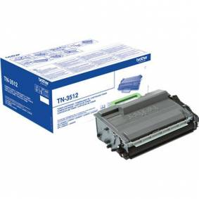 Brother TN3512 BK Toner - Original - Svart 12000 sider