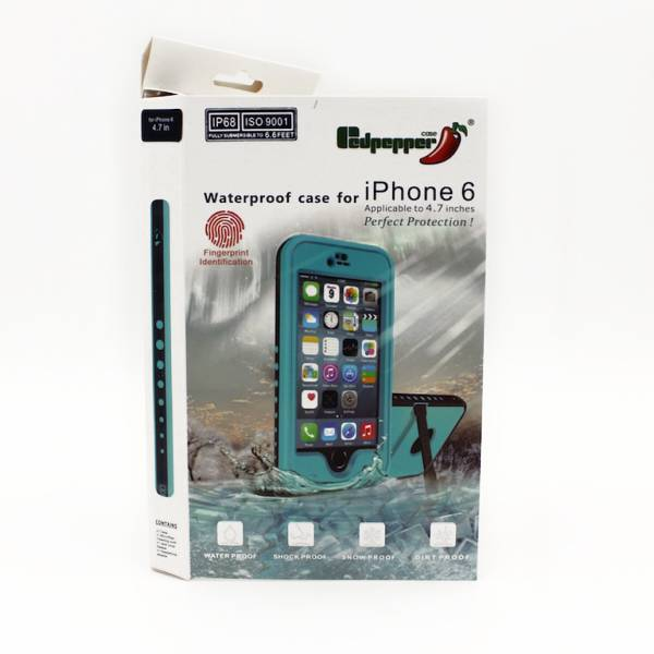 Apple Vanntett iPhone 6 Cover, Sort (som Lifeproof)