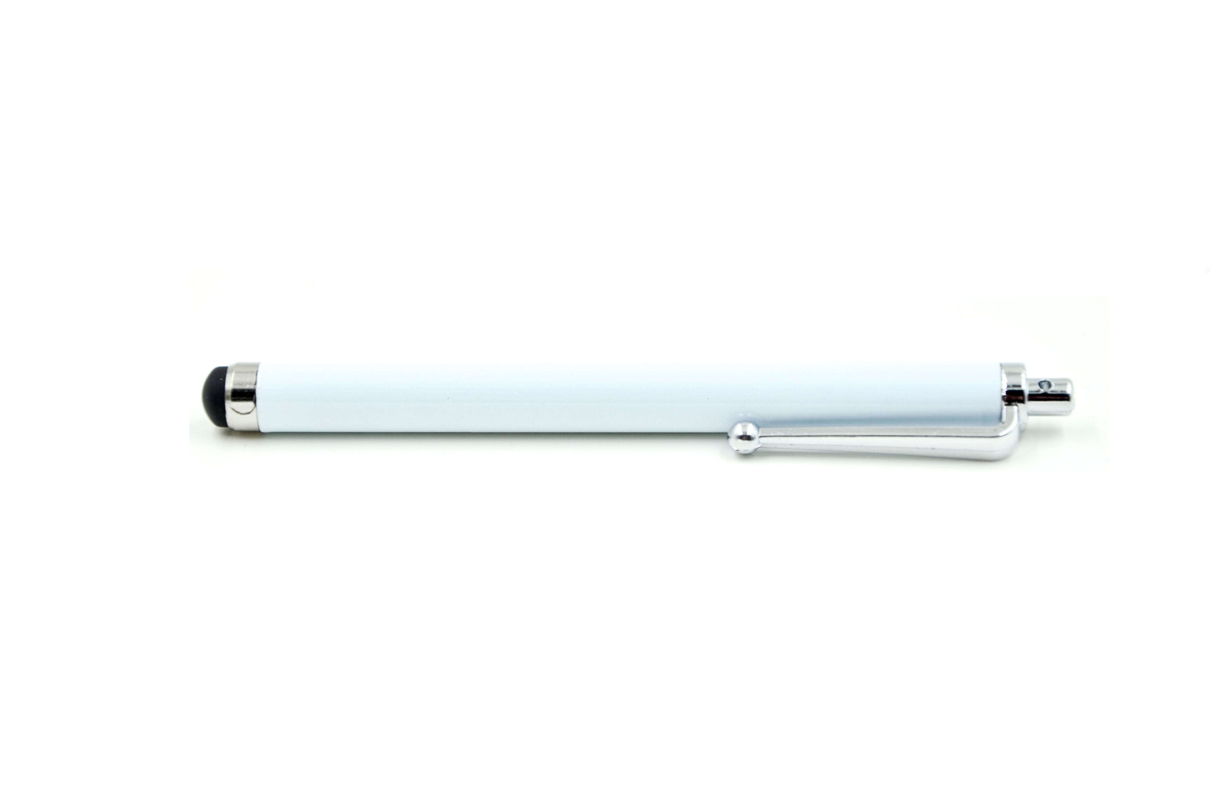 Stylus Touch pen for Smartphones og iPad, hvit