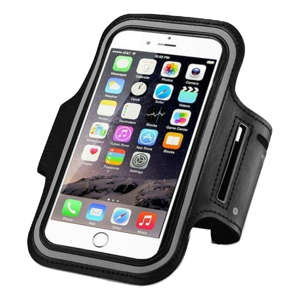 Apple Easy Fit Armbånd for iPhone og Samsung i sort A4 A-Å