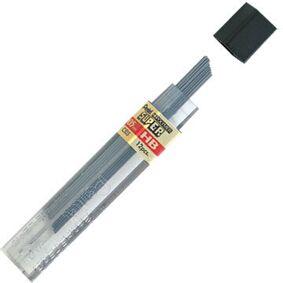 Pentel Super Stifter, á 12 el. 15 stk 6H - 0,5 mm
