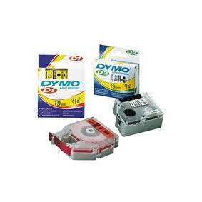 Dymo Tape D1 sort/hvit 6 mm x 7 m - 43613