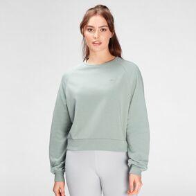 MP Women's Composure Sweatshirt- Washed Green - S