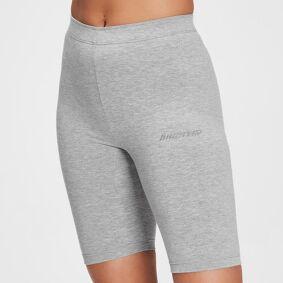 MP Women's Tonal Graphic Cycling Shorts - Grey Marl - XXS