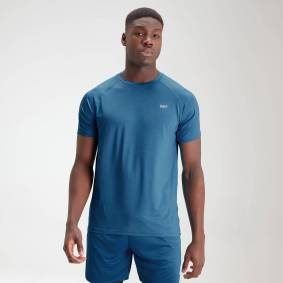 MP Men's Essentials Training Short Sleeve T-Shirt - Aqua - XXXL