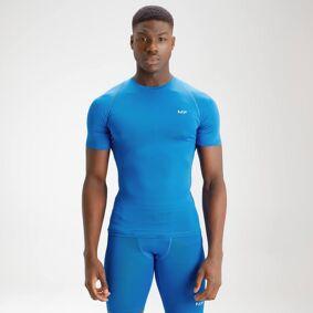 MP Men's Essentials Base Layer Short Sleeve Top - True Blue - M