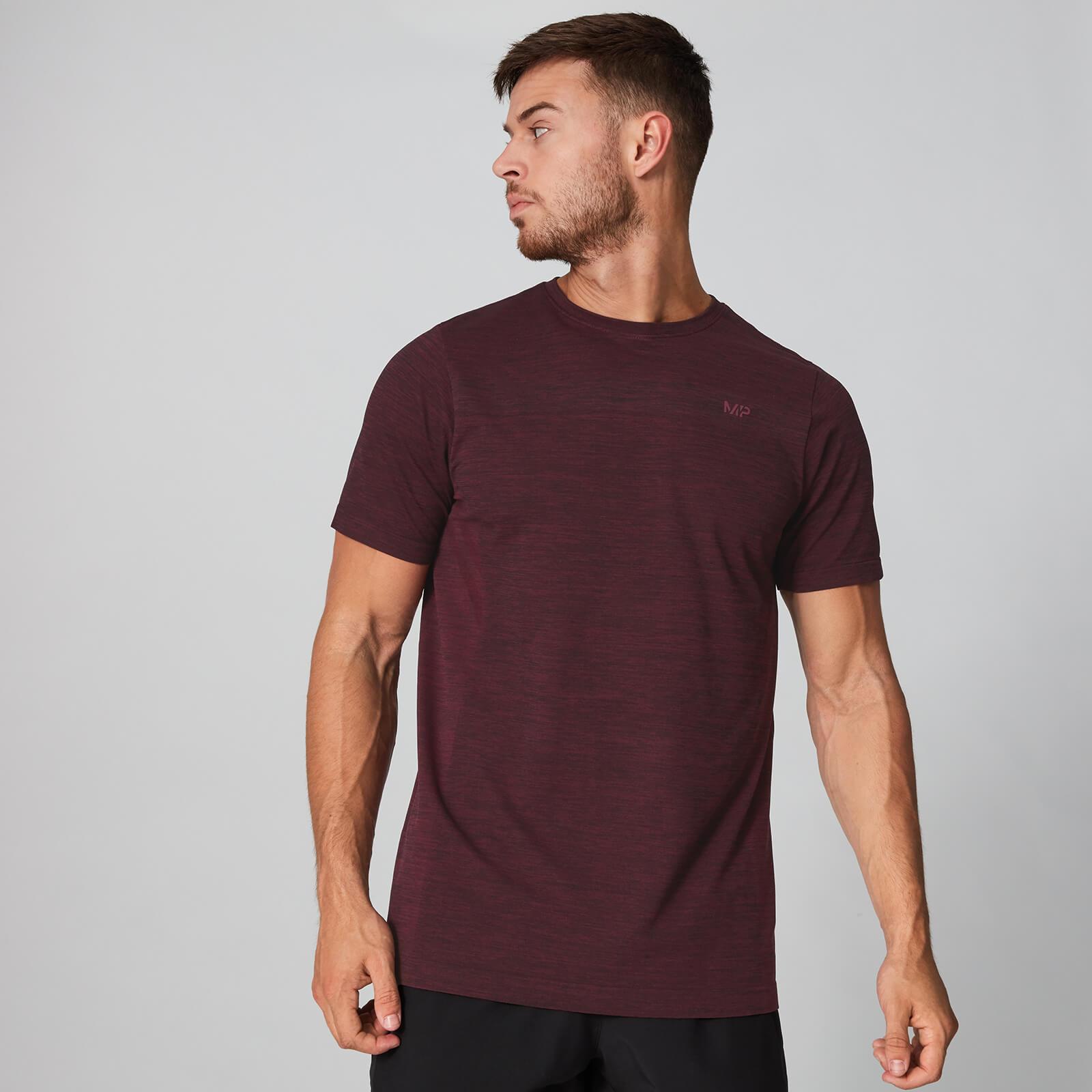 Myprotein Aero Knit T-Skjorte - Oxblood Marl - S