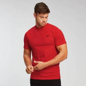 Myprotein MP Men's Essentials T-skjorte – Skarp rød - XXL