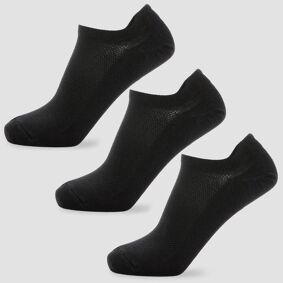 MP Men's Essentials Ankle Socks - Black (3 Pack) - UK 9-12