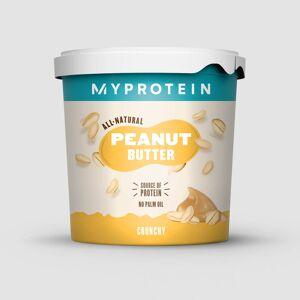 Myprotein Peanøttsmør Naturlig - 1kg - Original - Crunchy