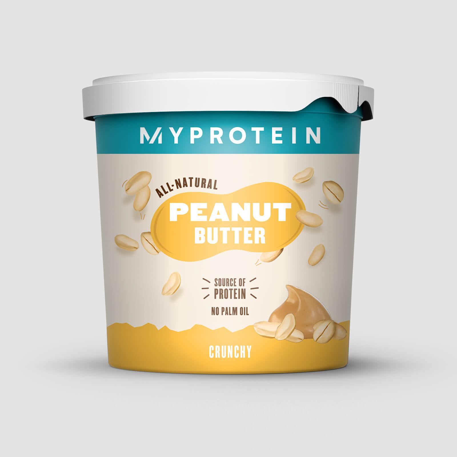 Myprotein Peanøttsmør Naturlig - Original - Crunchy