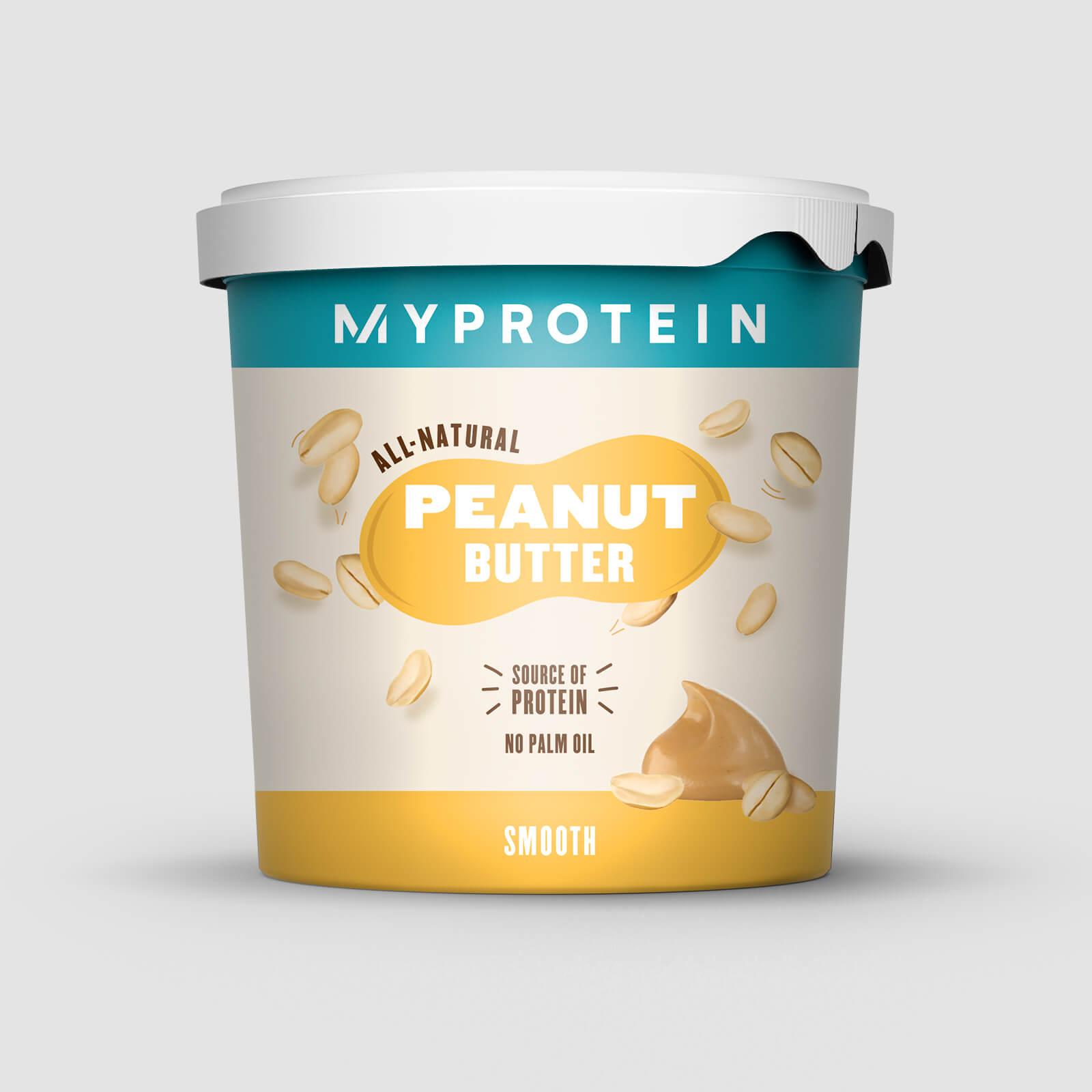 Myprotein Peanøttsmør Naturlig - Original - Smooth