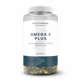Myvitamins Omega 3 Pluss - 250kapsler