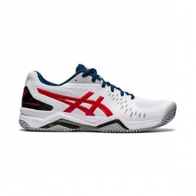 Asics GEL-Challenger 12 Clay/Padel White/Red 40.5