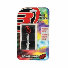 Bullpadel Frame Protector Black 3 pcs.