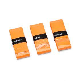 YouPadel Overgrip Orange 3-pack