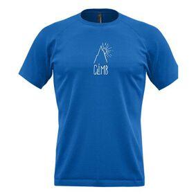 Crazy Idea T-Shirt Push For Change Man (Bluette) - L