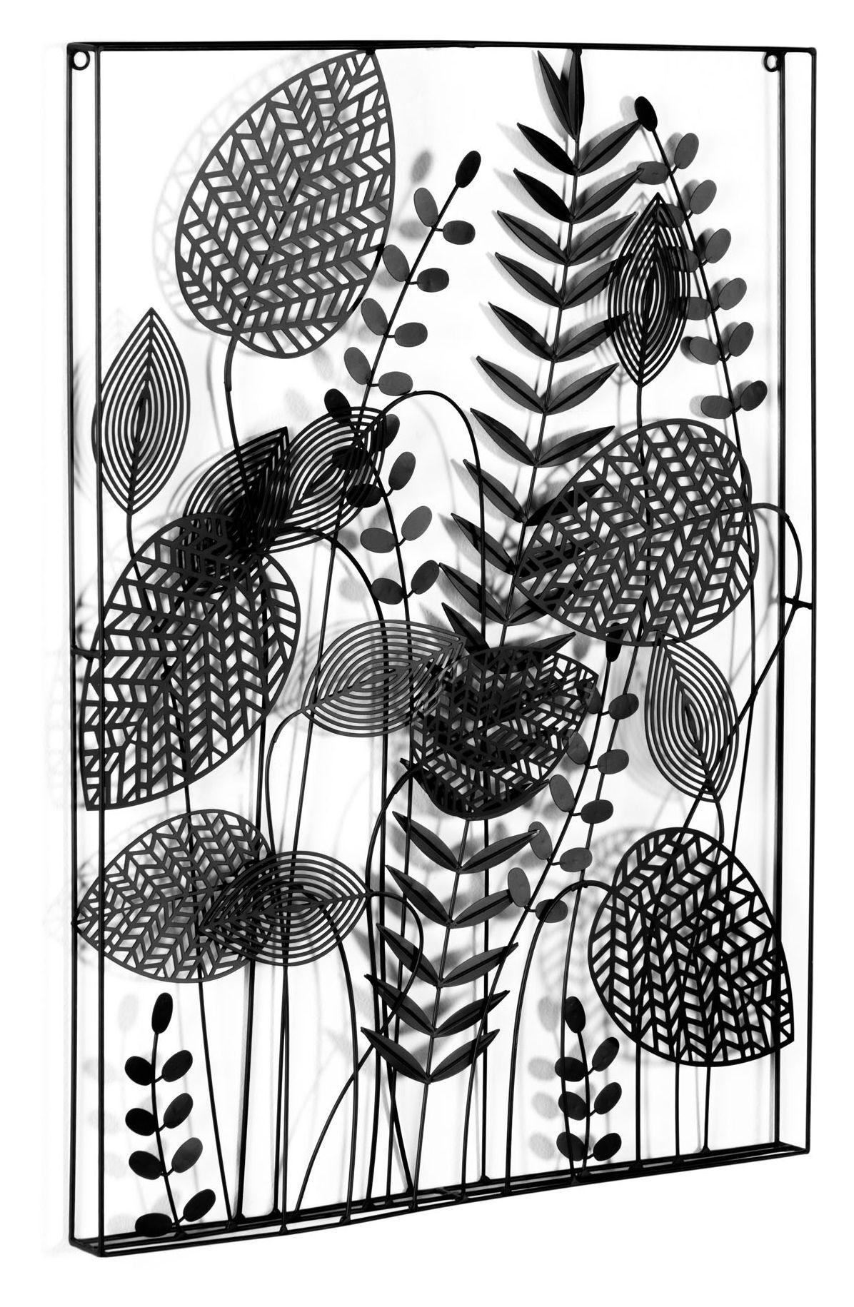 LaForma Denecia Vegg Dekorasjon - Sort