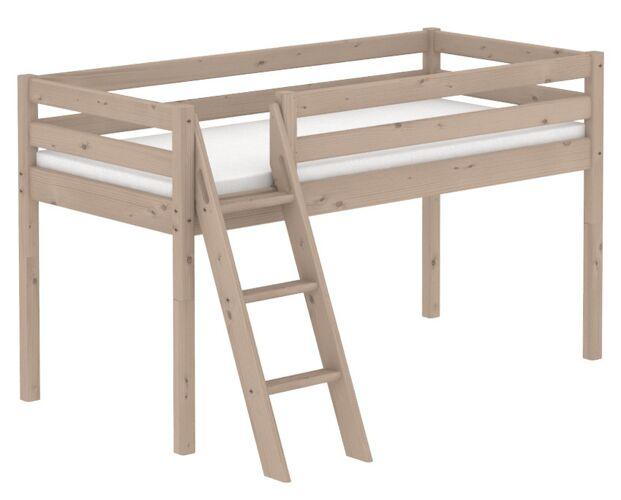 Flexa Classic Halvhøj seng - terra