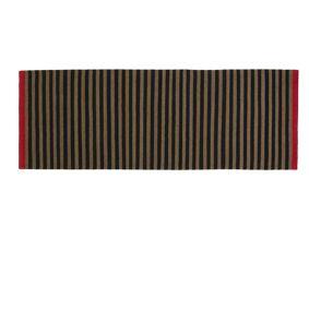 Fabula Living - Rosemary Løper - Svart og beige - 90x250