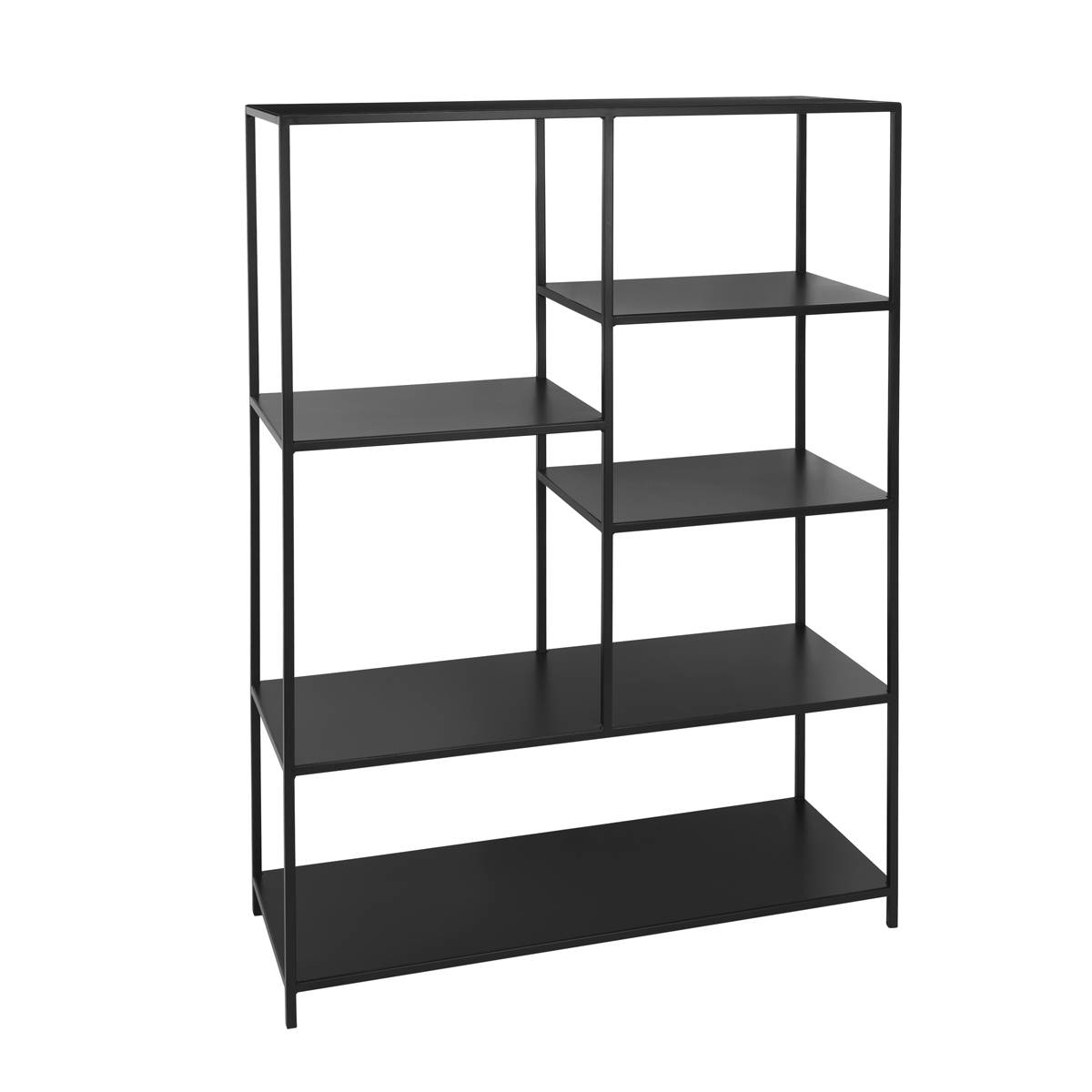 Unoliving Ryle Bookcase Reol i jern - Sort