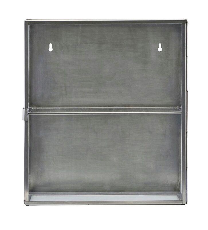 House Doctor - Glasskap i rustfritt stål H40
